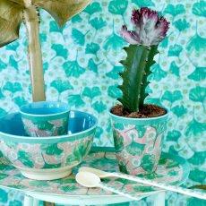 Rice Bol flores de melamina-listing
