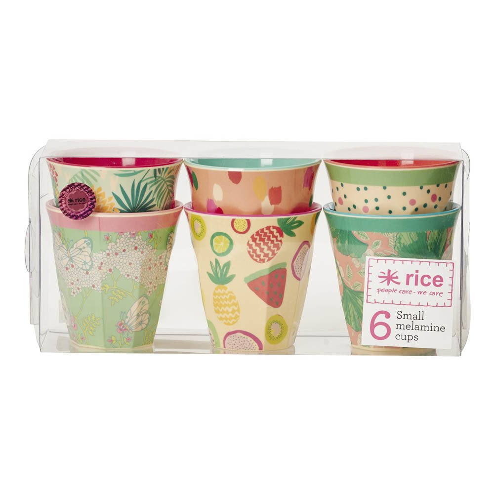 Vasos de melamina Today is fun - Set de 6-product