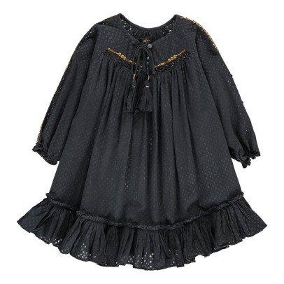 Velveteen Kleid mit Punkten Frankie -listing