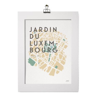 Kerzon Poster- Jardin du Luxembourg -listing