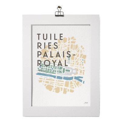 Kerzon Poster- Tuileries Palais Royal -listing