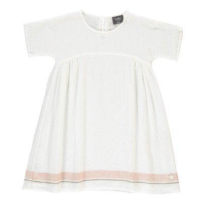 Tocoto Vintage Robe Crêpon Rayures-listing