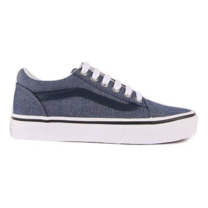 Vans Old Skool Chambray Lace-Up Trainers-listing