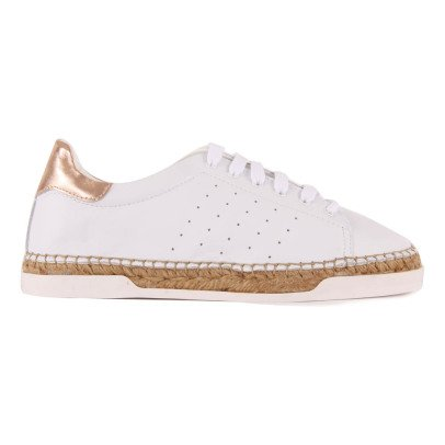 Canal St Martin Lancry Rose Gold Trainers with Heels-listing