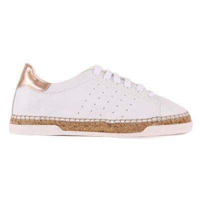 Canal St Martin Sneakers Suola dorata Rosa-listing