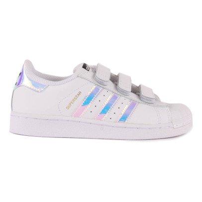 Adidas Iridescent Superstar Velcro Trainers-listing