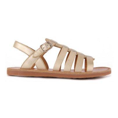 Pom d'Api Strap Metallic Leather Sandals-listing
