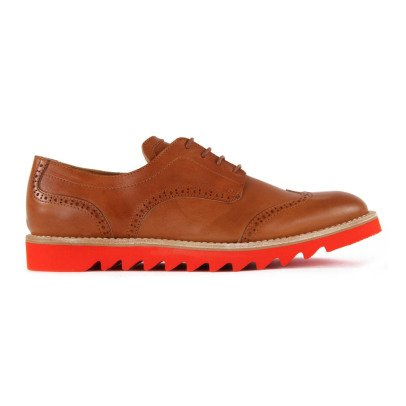 Gallucci Leather Derbies-listing