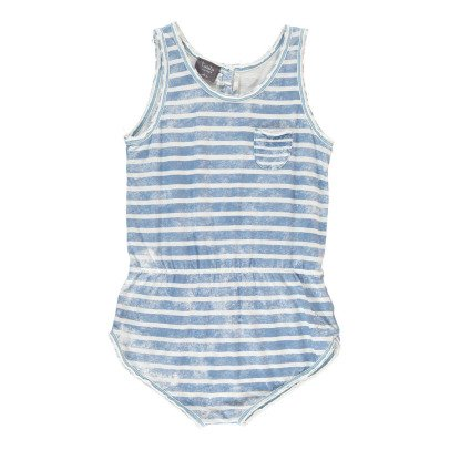 Tocoto Vintage Striped Playsuit-listing