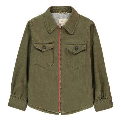 Bellerose Leho Striped Overshirt Jacket-listing