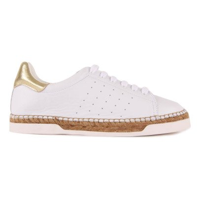 Canal St Martin Lancry Gold Trainers with Heels-listing