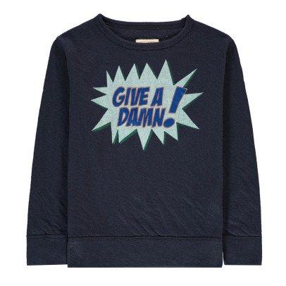 "Bellerose Sokaw ""Give A Damn"" Sweatshirt-listing"