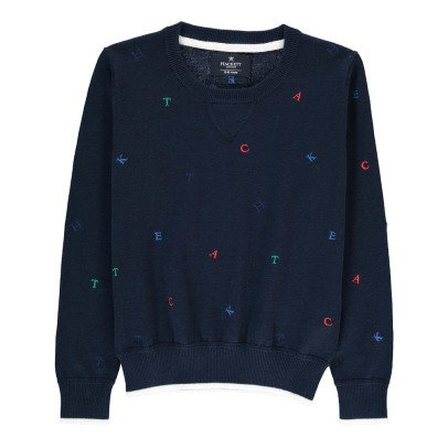 Hackett Pull Lettres Multicolores-listing