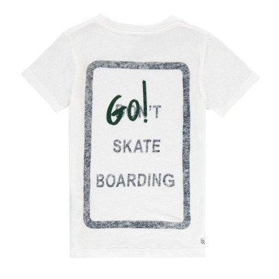 """Bellerose T-shirt """"Go! Skate Boarding"""" -listing"""