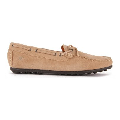 Hackett Suede Lace-Up Mocassins-listing