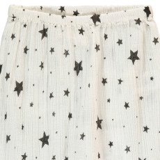 Louis Louise Jungle Star Cotton Crepe Harem Trousers-listing
