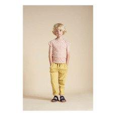 Caramel Burdock Cotton Linen Trousers-listing