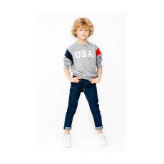 "Finger in the nose Sweatshirt ""USA"" Brian-listing"