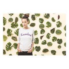 Maison Labiche L'Aventure Embroidered Pearl Sweatshirt-listing