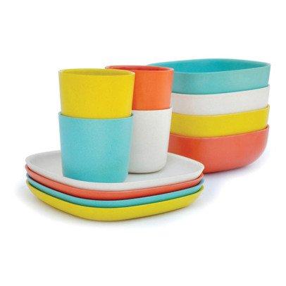 Ekobo Set platos, bols y vasos-listing