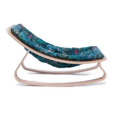 Charlie Crane Levo Beech Wood Baby Bouncer - Little Cabari Jazz-product