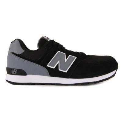 New Balance KL574 Suede Lace-Up Trainers-listing