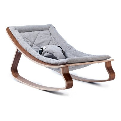Charlie Crane Levo Walnut Baby Bouncer-product