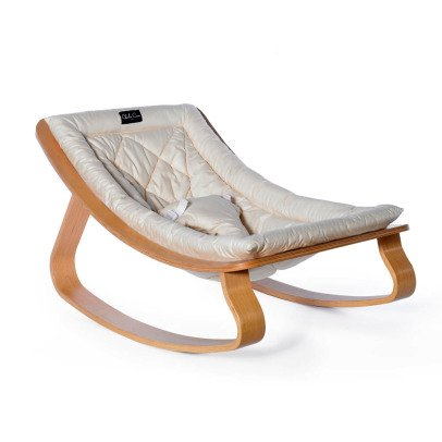 Charlie Crane Levo Beech Wood Baby Bouncer-product