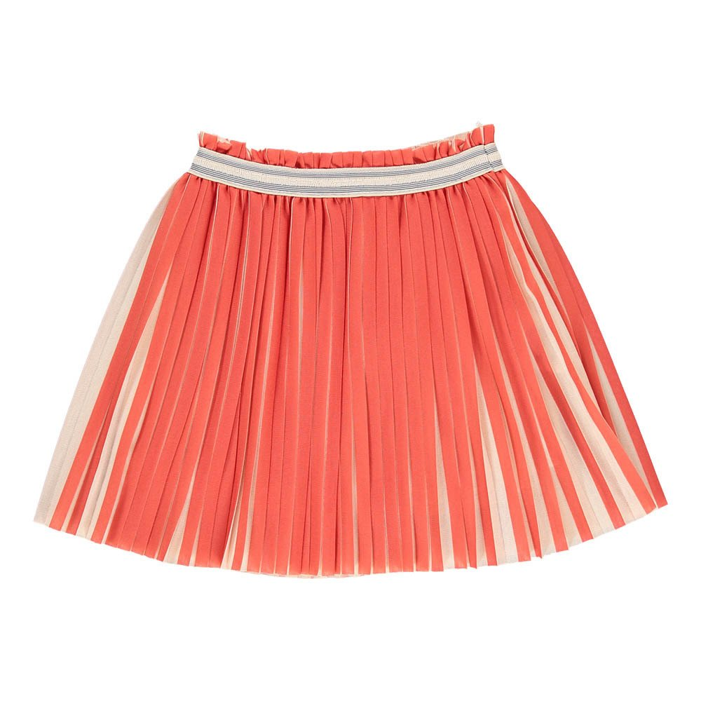Vanil Two-Tone Pleated Skirt-product