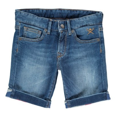 Hackett British Flag Denim Shorts-listing