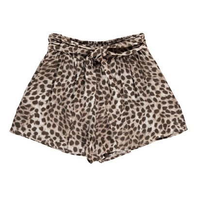 Swildens Qalypso Leopard Print Shorts-product