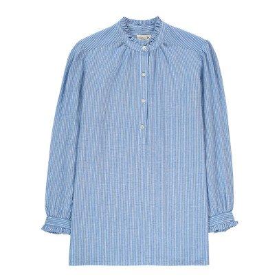Soeur Camisa Rayas Cuello Volantes Betty-listing