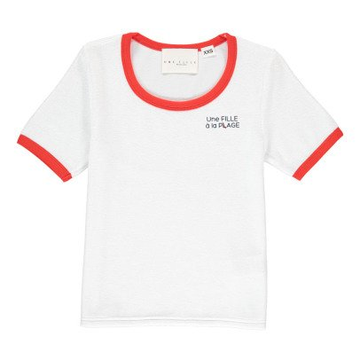 UNE FILLE today I am T-Shirt Eponge-listing