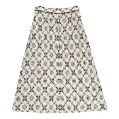 Swildens Qeen Two-Tone Jacquard Skirt-listing