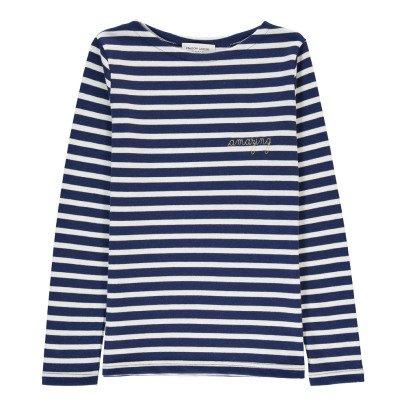 Maison Labiche Amazing Embroidered Marinière T-Shirt-listing