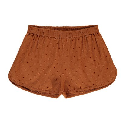Louis Louise Georginette Embroidered Shorts-product