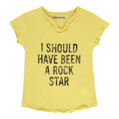 "Zadig & Voltaire Camiseta t ""Rock Star"" Boxo-listing"