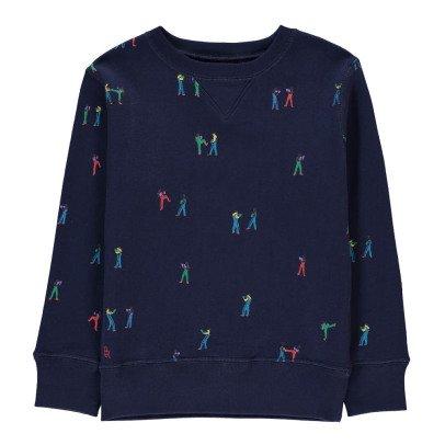 Bellerose Akne Boxer Sweatshirt-listing