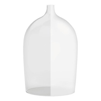 DesignerBox Nippy OD Mouth Blown Frosted Glass Bell-listing