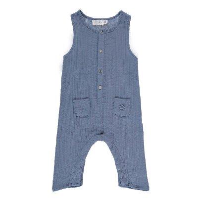 Tocoto Vintage Crepe Buttoned Jumpsuit-listing