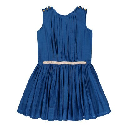 Velveteen Anila Cotton and Silk Dress-listing