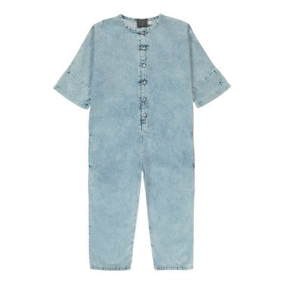 Tocoto Vintage Buttoned Jumpsuit-listing