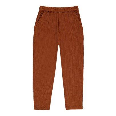 Louis Louise Gazelle Cotton Crepe Trousers-listing
