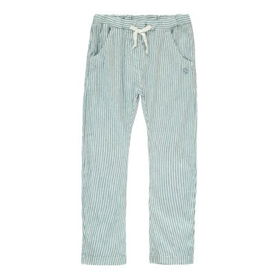 Tocoto Vintage Striped Trousers-listing