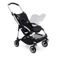 Bugaboo Carrozzina completa BEE5 telaio alluminio, seduta nera-listing