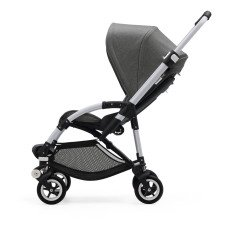 Bugaboo BEE5 Convertible Pushchair with Aluminium France, Black Seat and Bassinet -listing