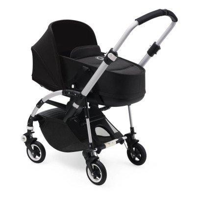 Bugaboo Kinderwagen BEE5,Gestell aus Aluminium, Sitzfläche schwarz, Korb-listing