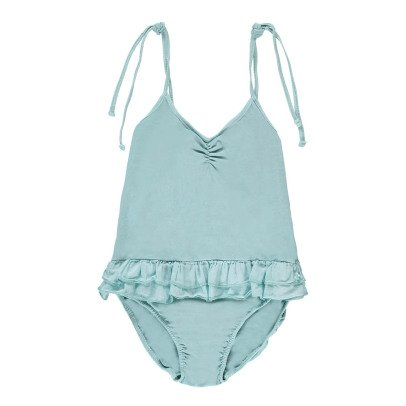 Tocoto Vintage 1 Piece Ruffle Swimsuit-listing