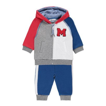 Little Marc Jacobs Zipped Hoodie + Jogging Bottoms-product