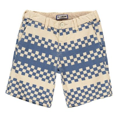 Scotch & Soda Graphic Chino Shorts-listing